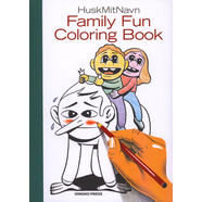 HuskMitNavn - The Fun Family Coloring Book