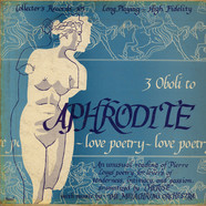 Pierre Louÿs - Aphrodite Love Poetry