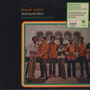 Pharoah Sanders - Deaf, Dumb, Blind: Summun, Bukmun, Umyun