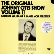 Johnny Otis Show, The With Devona Williams & James Von Streeter - The Original Johnny Otis Show Volume II