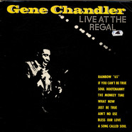 Gene Chandler - Live At The Regal