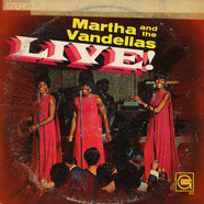 Martha Reeves & The Vandellas - Live!