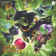 Jake Kaufman - OST Shovel Knight Plague Of Shadows Green Vinyl Edition