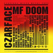Czarface (Inspectah Deck & 7L & Esoteric) & MF Doom - Czarface Meets Metal Face hhv.de Red Vinyl Edition