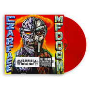 Czarface (Inspectah Deck & 7L & Esoteric) & MF Doom - Czarface Meets Metal Face HHV Red Vinyl Edition