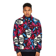 Parra - Still Life With Plant Sherpa Fleece Pullover