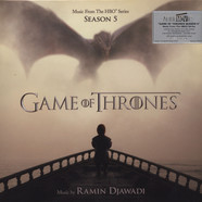 Ramin Djawadi - OST Game Of Thrones Season 5 Blue Vinyl Edition