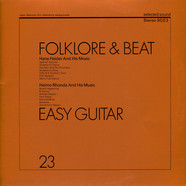 Hans Haider And His Music / Heimo Rhonda And His Music - Folklore & Beat / Easy Guitar