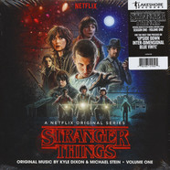 Kyle Dixon & Michael Stein - OST Stranger Things Season 1 Volume 1 Upside Down Inter-Dimensional Blue Vinyl Edition