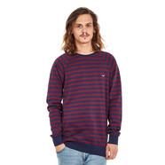 Cleptomanicx - Classic Stripe 2 Crewneck Sweater