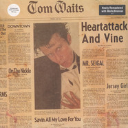 Tom Waits - Heartattack And Vine Remastered Black Vinyl Edition