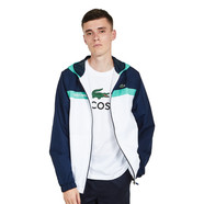 Lacoste - Diamond Weave Taffeta Jacket