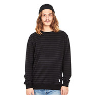 Cleptomanicx - Interstripe Crewneck Sweater