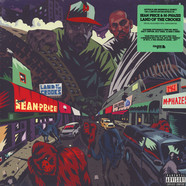 Sean Price & M-Phazes - Land Of The Crooks New Bonus Edition Blue Green Swirl Vinyl Edition