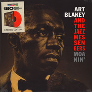Art Blakey And The Jazz Messengers - Moanin' Transparent Red Vinyl Edition