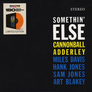 Cannonball Adderley - Somethin' Else Orange Vinyl Edition