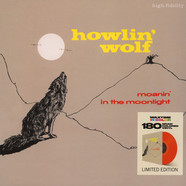 Howlin' Wolf - Moanin' In The Moonlight Red Vinyl Edition