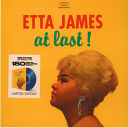 Etta James - At Last! Transparent Blue Vinyl Edition
