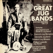 V.A. - The Great Jug Bands 1926-1934