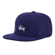 Stüssy - Smooth Stock Polar Fleece Strapback Cap