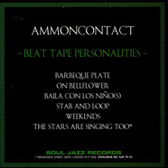 AmmonContact - Beat Tape Personalities