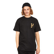 HUF x Spitfire - Spitfire Flaming H S/S Tee