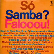 Unknown Artist - Só Samba? Falooou! - Vol. 2