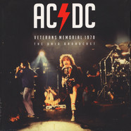 AC/DC - Veterans Memorial 1978 Black Vinyl Edition