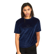 Fred Perry - Embroidered Velour T-Shirt