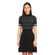 Fred Perry - Textured Knitted Dress
