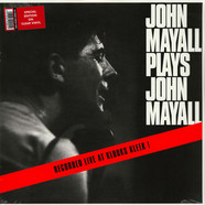 John Mayall - Plays John Mayall Live At Klooks Kleek Clear Vinyl Edition