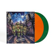 John Du Prez - OST Teenage Mutant Ninja Turtles Michelangelo Edition Orange & Green Vinyl