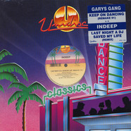 Gary's Gang / Indeep - Keep On Dancin (Remake 91) / Last Night A DJ Saved My Life (Remix 91)