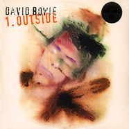 David Bowie - 1. Outside Tri-Fold Cover Audiophile Translucent Blue & Green Swirl Vinyl Edition
