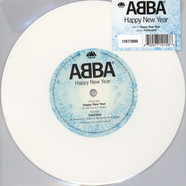 Abba - Happy New Year Limited White Vinyl Edition