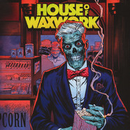 House Of Waxwork - Issue 2 Time Capsule Cover Edition / OST Toxic Zombie Purple Colored Vinyl