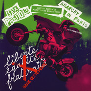 Sex Pistols - Anarchy In Paris Silver Vinyl Edition