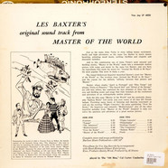 Les Baxter - Original Sound Track From... Jules Verne's Master Of The World