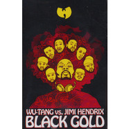 Wu-Tang Clan Vs. Jimi Hendrix - Black Gold Gold Tape Edition