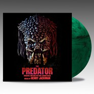 Henry Jackman - OST The Predator Hunter Green With Black Smoke Vinyl Edition