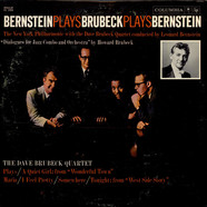 New York Philharmonic Orchestra, The With The Dave Brubeck Quartet Conducted By Leonard Bernstein - Bernstein Plays Brubeck Plays Bernstein