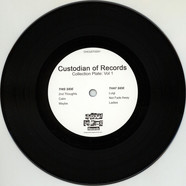 Custodian Of Records - Collection Plate Vol 1