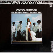 Precious Wilson - On The Race Track / Mr. Pilot Man