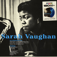 Sarah Vaughan - Sarah Vaughan With Clifford Brown Transparent Blue Vinyl Edition