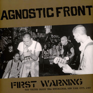 Agnostic Front - First Warning: The United Blood Era Recordings 1983
