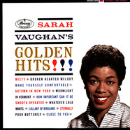 Sarah Vaughan - Golden Hits Limited Gold Vinyl Edition