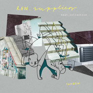 Raw Suppliers - Tandem Grey & Yellow Marbled Vinyl Edition