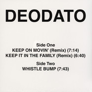 Deodato - Keep On Movin / Keep It In The Family (Remix)
