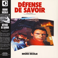 Bruno Nicolai - OST Defense De Savoir