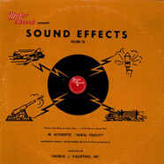 No Artist - Sound Effects Volume 24